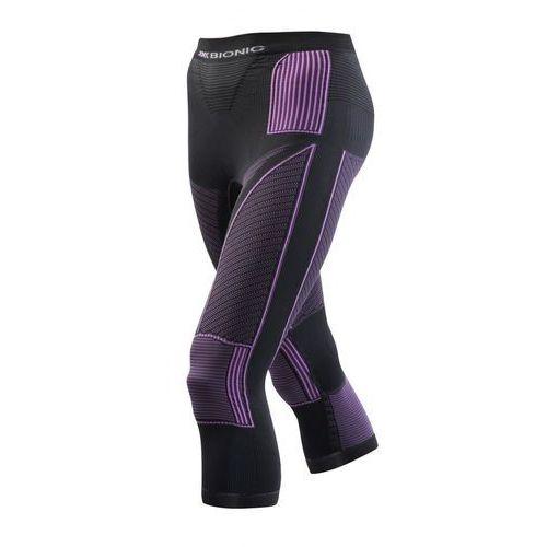 accumulator evo bielizna dolna kobiety fioletowy/czarny s/m 2018 spodnie termiczne 3/4 marki X-bionic