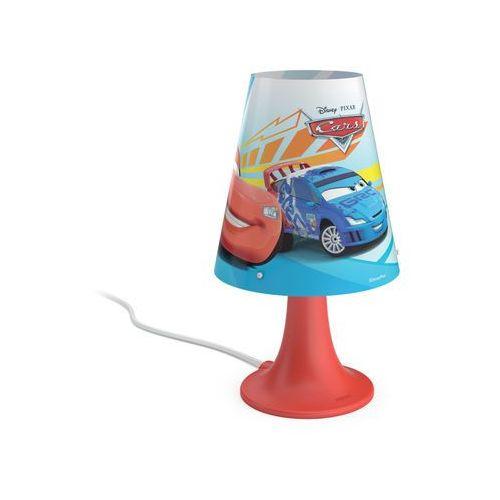 71795/32/16 - lampa stołowa dla dzieci disney cars led/2,3w/230v marki Philips