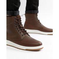 rigal boots in tan - tan marki Dr martens