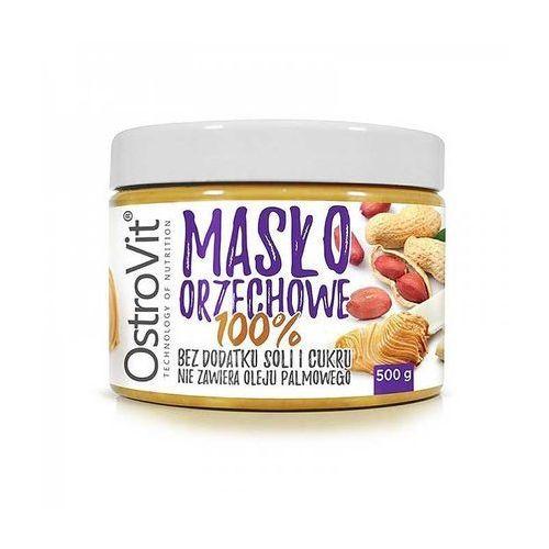 Masło orzechowe arachidowe 500g najlepszy produkt marki Ostrovit