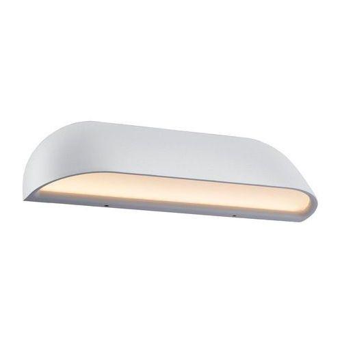 Design for the people by nordlux front36 lampa ścienna led biały, 1-punktowy - nowoczesny/ponadczasowy - obszar zewnętrzny - front26 - czas dostawy: od 4-8 dni roboczych (5701581341180)