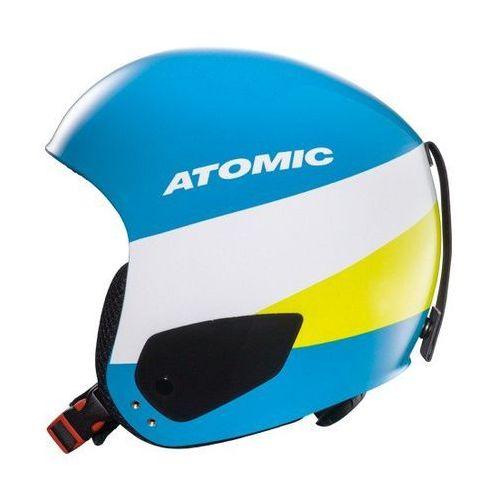 Dziecięcy kask narciarski redster jr blue s (52-53 cm) marki Atomic