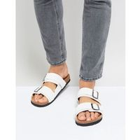 double strap sandals in white - white marki Brave soul