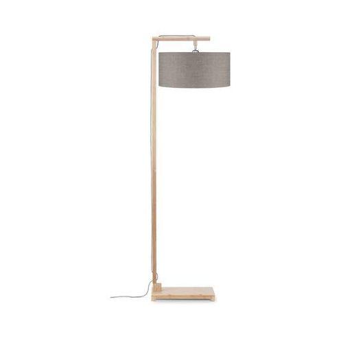lampa podłogowa himalaya, abażur ciemny len, rozmiar 47x23cm himalaya/f/4723/ld marki Good&mojo