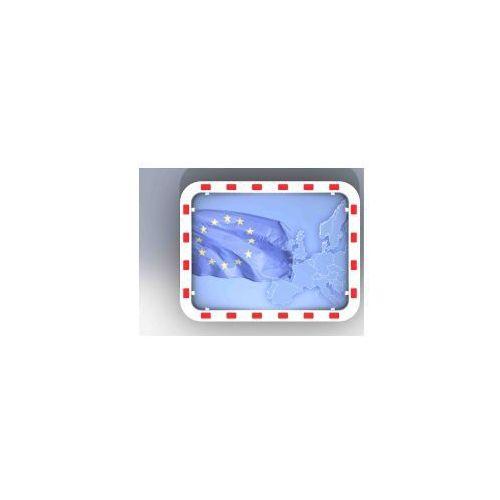 Lustro odporne na szron i parę prostokątne - odległość obserwacyjna 15 m marki Dancop