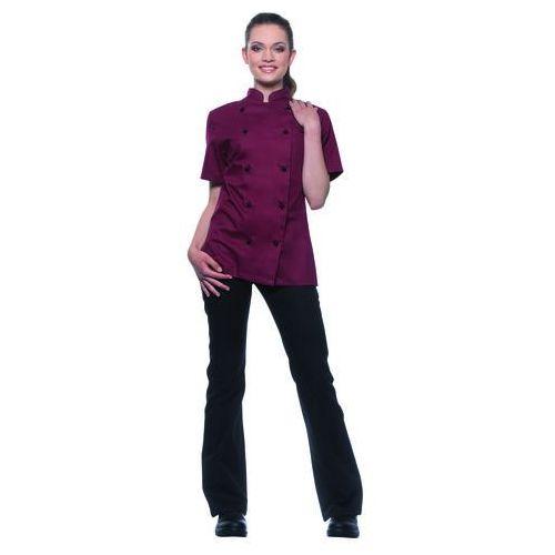 Bluza kucharska damska, rozmiar 36, bordowa | KARLOWSKY, Pauline