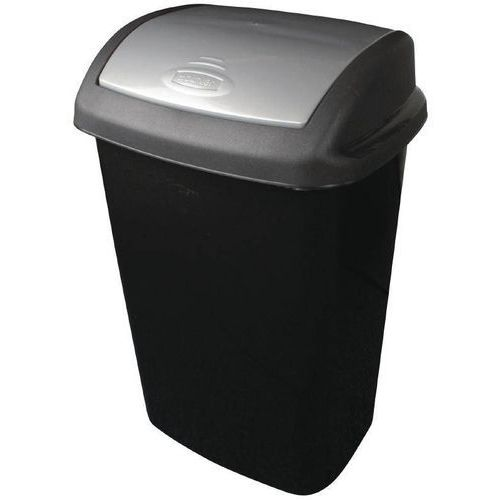Kosz na śmieci czarny | różna pojemność marki Curver