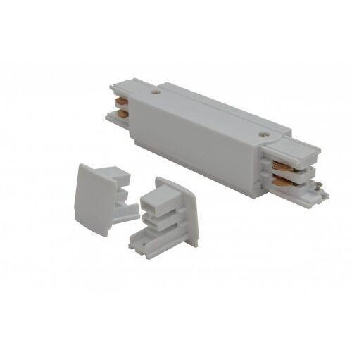 Zasilanie środkowe i zaślepka do szyny montażowej line power + 2x end cap az2978 marki Azzardo