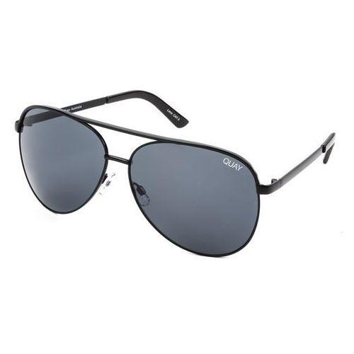 Quay australia Okulary słoneczne qc-000098 vivienne blk/smk