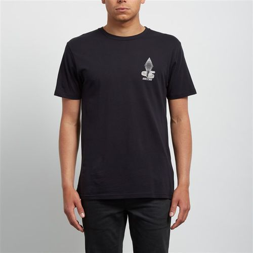 Koszulka - digitalpoison bsc ss black (blk) rozmiar: m marki Volcom