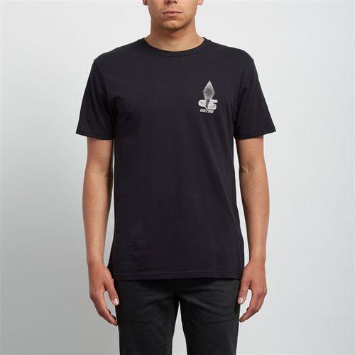koszulka VOLCOM - Digitalpoison Bsc Ss Black (BLK) rozmiar: XL