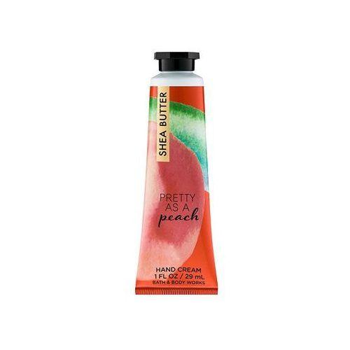 Bath & body works  pretty as a peach krem do rąk (shea butter, vitamin e) 29 ml