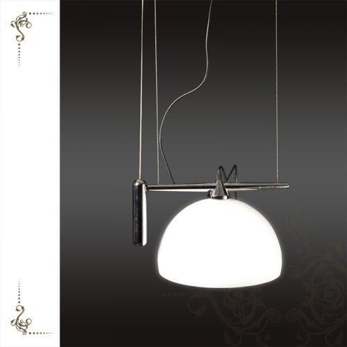 Lampa wisząca linea biała, ad6147-1gl wh marki Sinus