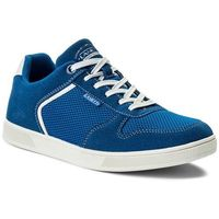 Sneakersy - mp07-17124-03 niebieski ciemny, Lanetti, 40-44