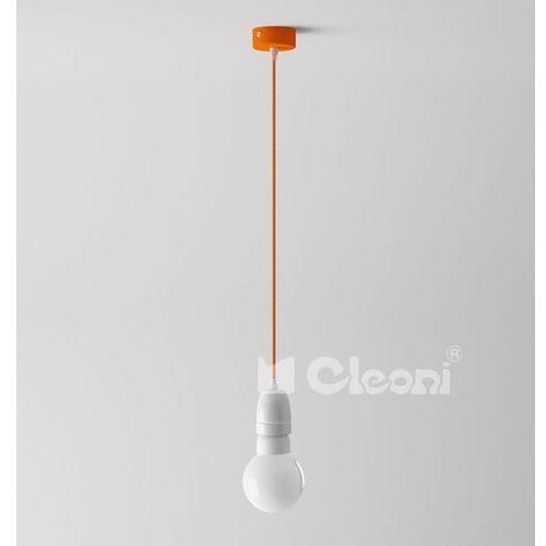lampa wisząca EGO 1D z zielonym przewodem, CLEONI 1298D+