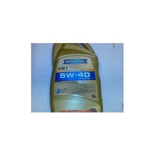 olej silnikowy RAVENOL TURBO VST 5W-40 5W40 5l API SN/CF, ACEA A3/B4...