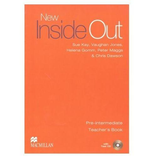 New Inside Out Pre-Intermediate. Książka Nauczyciela + Test CD, oprawa miękka