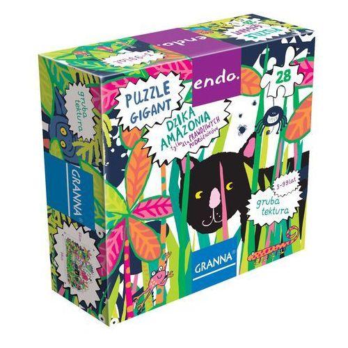 Dzika Amazonia Puzzle Gigant 28
