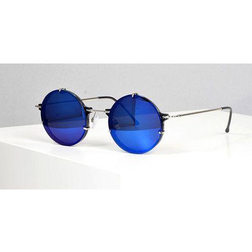 Okulary Słoneczne Spitfire Infinity Black/Silver/Blue Mirror