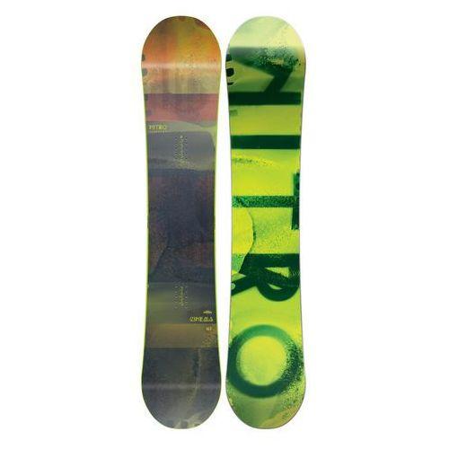 Potestowa deska snowboardowa cinema 159 cm marki Nitro