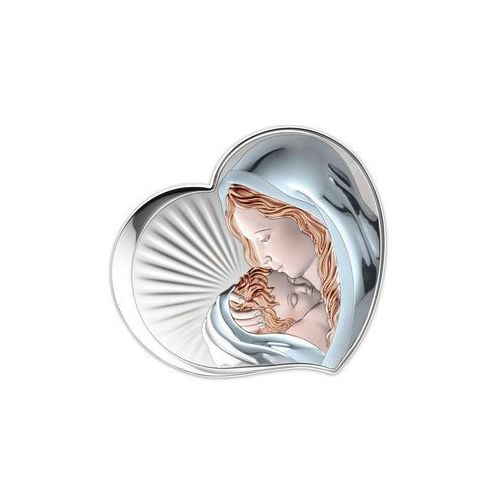 Srebrny Obrazek Matka Boska w kolorze - (VL81295COL)