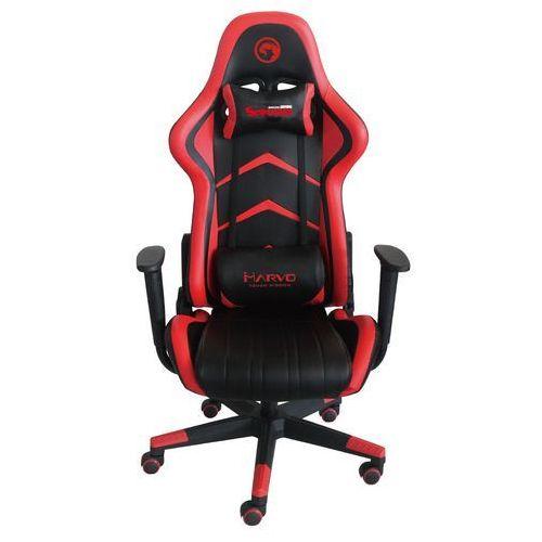 Fotel ch-106 czerwono-czarny marki Marvo
