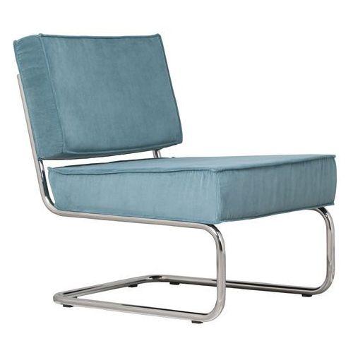 Zuiver Krzesło Lounge RIDGE RIB niebieskie 3100011 (8718548005297)