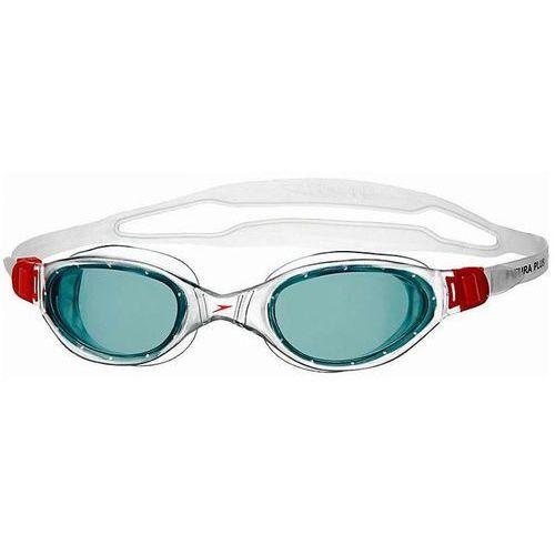 Speedo Okulary futura plus red/smoke