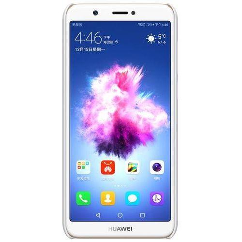 Etui Nillkin Frosted Shield Huawei P Smart - White - White, kolor biały