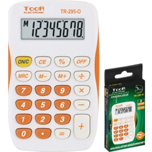 Kalkulator kieszonkowy TOOR TR-295