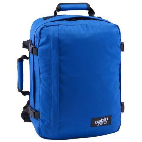 CabinZero Classic 36L torba podróżna podręczna / kabinowa / plecak / niebieski - Royal Blue, kolor niebieski