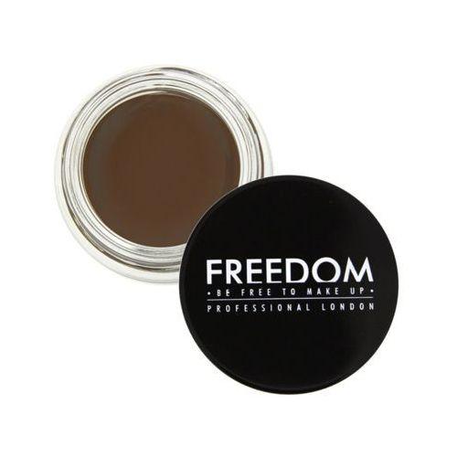 eyebrow pomade pomada do brwi odcień chocolate 2,5 g marki Freedom