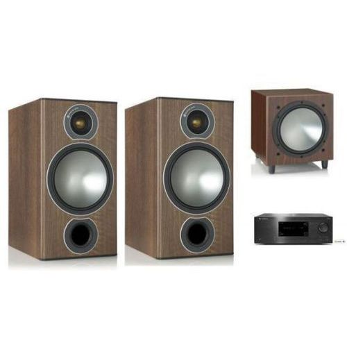 Zestawy Cambridge audio cxr120 + monitor audio bronze2 + w10