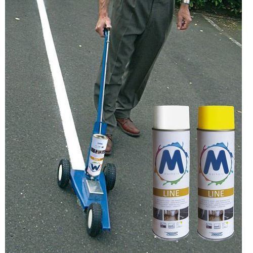Maszyna do malowania pasów z kategorii znaki informacyjne i ostrzegawcze