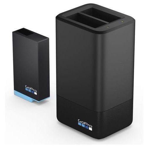 Gopro ładowarka max dual battery charger + battery (acdbd-001-eu)
