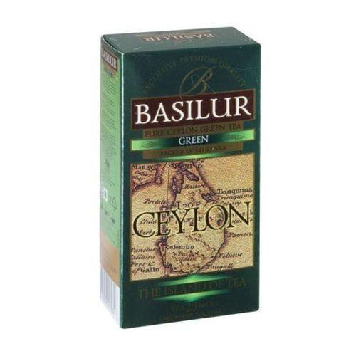 Basilur Herbata 70482 zielona w saszetkach 25x1,5g