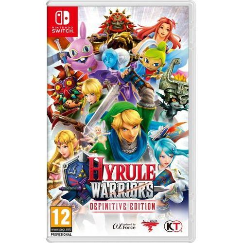 Nintendo Hyrule warriors - definitive edition (0045496421816)