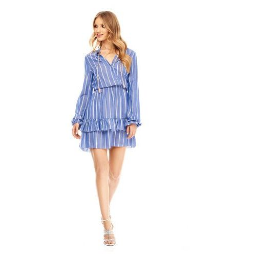 Sukienka Sabia niebieska w paski