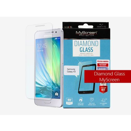 Samsung Galaxy A3 - szkło hartowane MyScreen Protector Diamond Glass, FOSM154DIGL000000