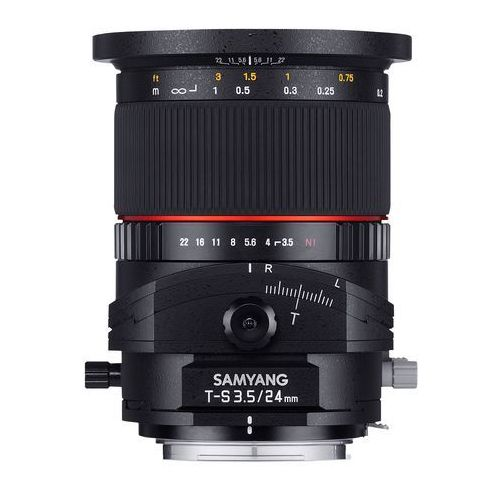 Samyang Karta kurier gratis t-s 24 mm f3.5 obiektyw mocowanie pentax