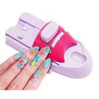 Maszynka do zdobienia paznokci - Zestaw