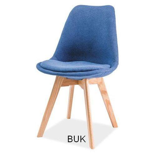 Krzesło drewniane SIGNAL DIOR buk, Kolory - styl skandynawski, Signal