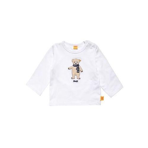 Steiff Collection SWEET TEDDY Bluzka z długim rękawem cloud dancer/white, kolor biały