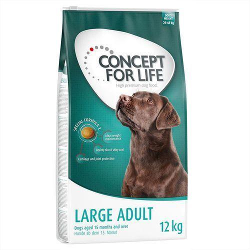 Concept for Life Large Adult - 12 kg| Dostawa GRATIS + promocje| -5% Rabat dla nowych klientów (4260358512747)