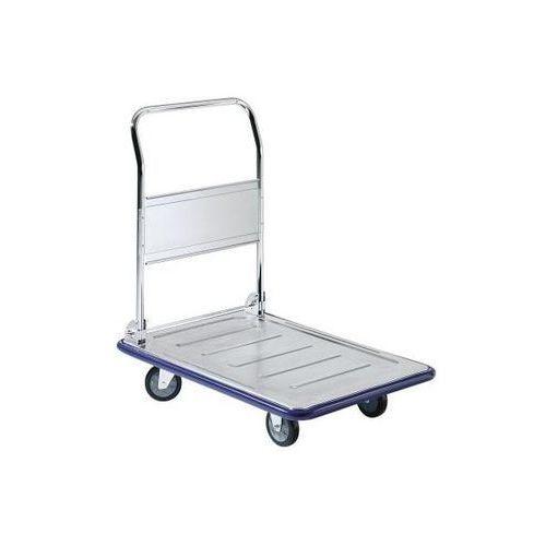 Seco Ocynkowany wózek platformowy, nośność 300 kg, dł. x szer. 925x625 mm. z listwą z