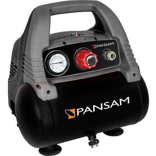 Kompresor bezolejowy PANSAM A077016 mini 6 litrów + DARMOWY TRANSPORT! (5902628003829)