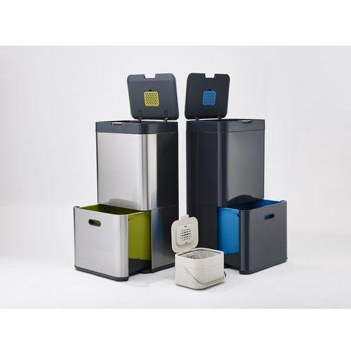 Kosz na śmieci Totem Intelligent Waste 58l grafitowo-niebieski ZAMÓW PRZEZ TELEFON 514 003 430 (5028420300253)