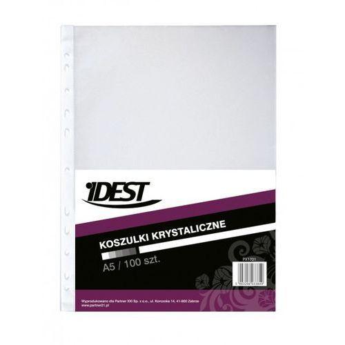 Koszulki na dokumenty Idest, krystaliczne, format A5, opakowanie 100 sztuk - Porady, wyceny i zamówienia - sklep@solokolos.pl - Tel.(34)366-72-72 - Autoryzowana dystrybucja - Szybka dostawa (5903206033844)