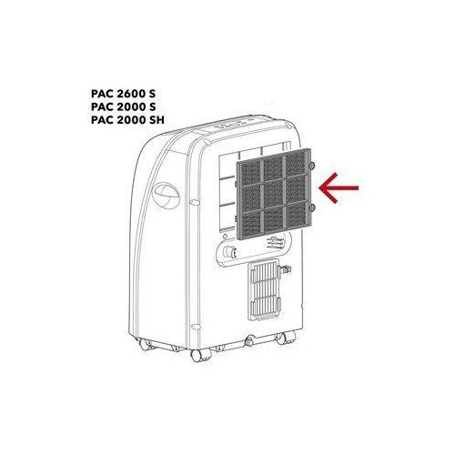 Trotec Pac 2600 s / pac 2000 s / pac 2000 sh filtr powietrza