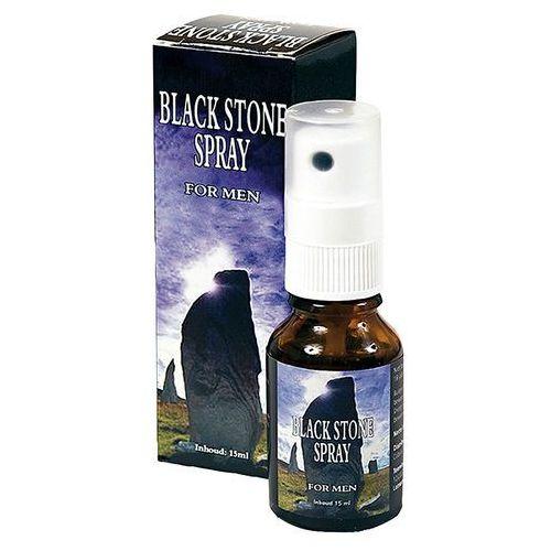 Cobeco Black Stone Delay Spray Spray opóźniający wytrysk 15 ml - produkt z kategorii- Opóźnianie wytrysku